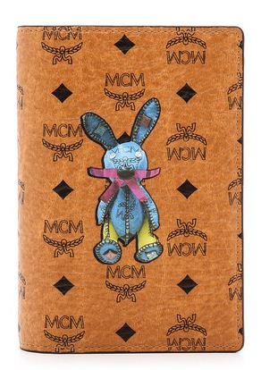 MCM Rabbit Print Passport Case   SHOPBOP2