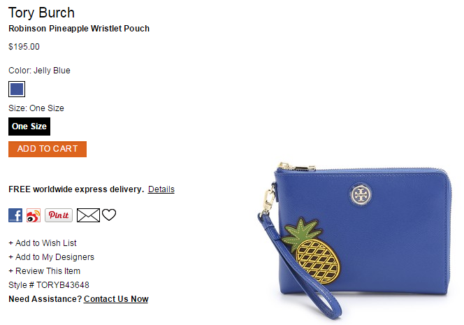 Tory Burch Robinson Pineapple Wristlet Pouch   SHOPBOP.png
