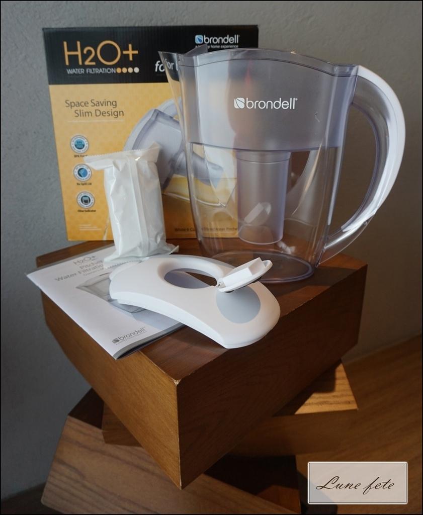 Brondell H2O+長效濾水壺