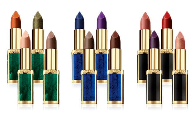 LOréal-Paris-X-Balmain-Color-Riche-Lipsticks-cluster