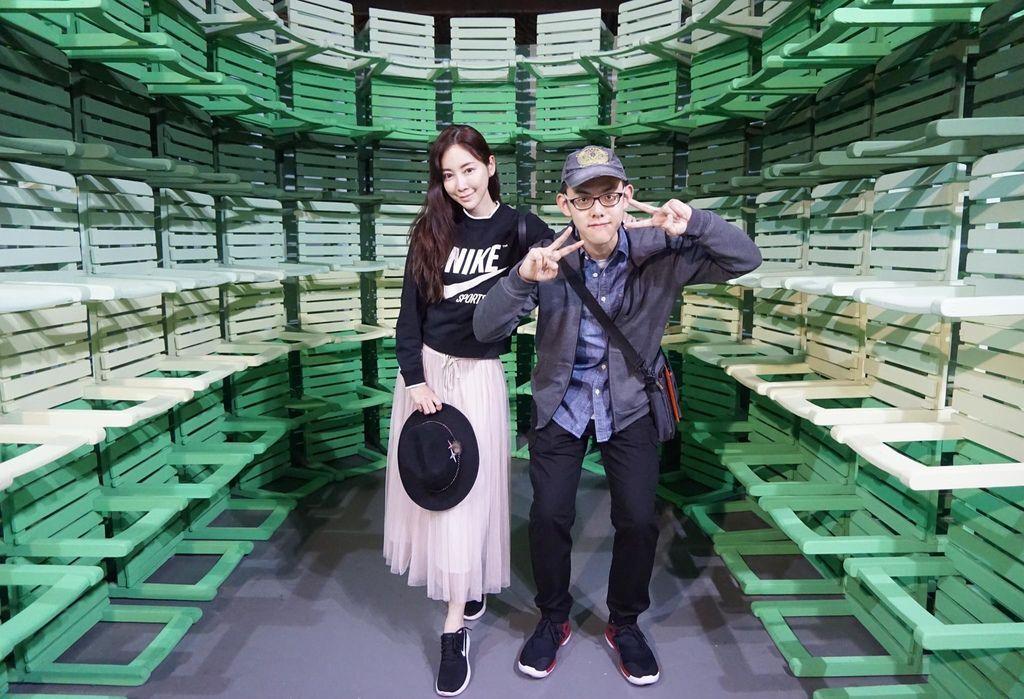 [2018松菸文創園區]看完色廊展....我深深覺得....台灣人的錢真好賺!大家先看一下粉專評論再去吧!