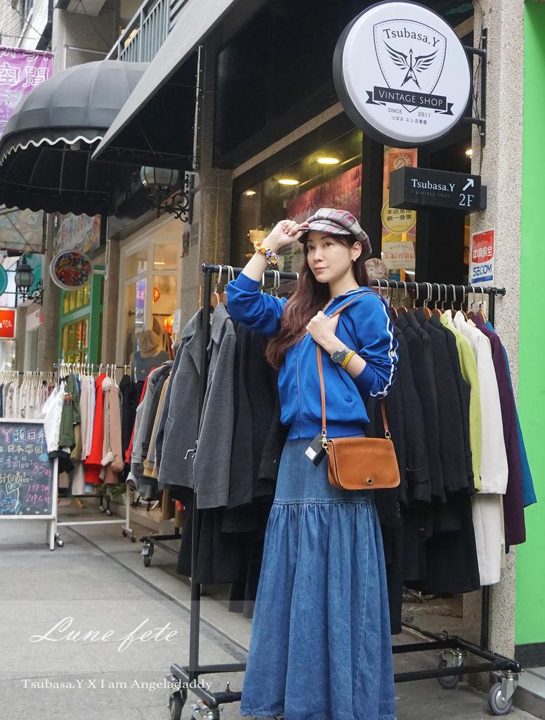 [台中益民商圈/一中商圈]Tsubasa.Y Vintage Shop古著店淘寶去!尋找不同自我的專屬品味體驗跨越時空的驚喜~(#FFA美國農耕隊外套#英國皇室御用Barbour蠟布外套#Versace#Lee#Levis#BoyLondon#Coach#Burberry#Adidas#Dr.Martens)