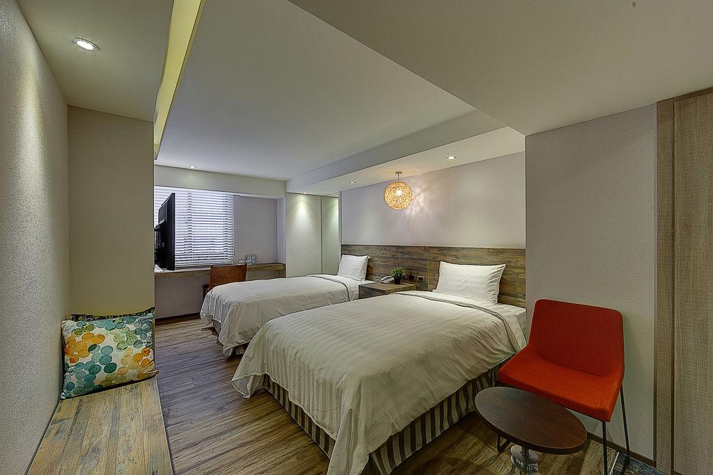 豪華雙人房-雙床 (1)