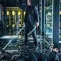 20190509威視電影《捍衛任務3:全面開戰》劇照05 拍攝玻璃屋對戰戲困難重重