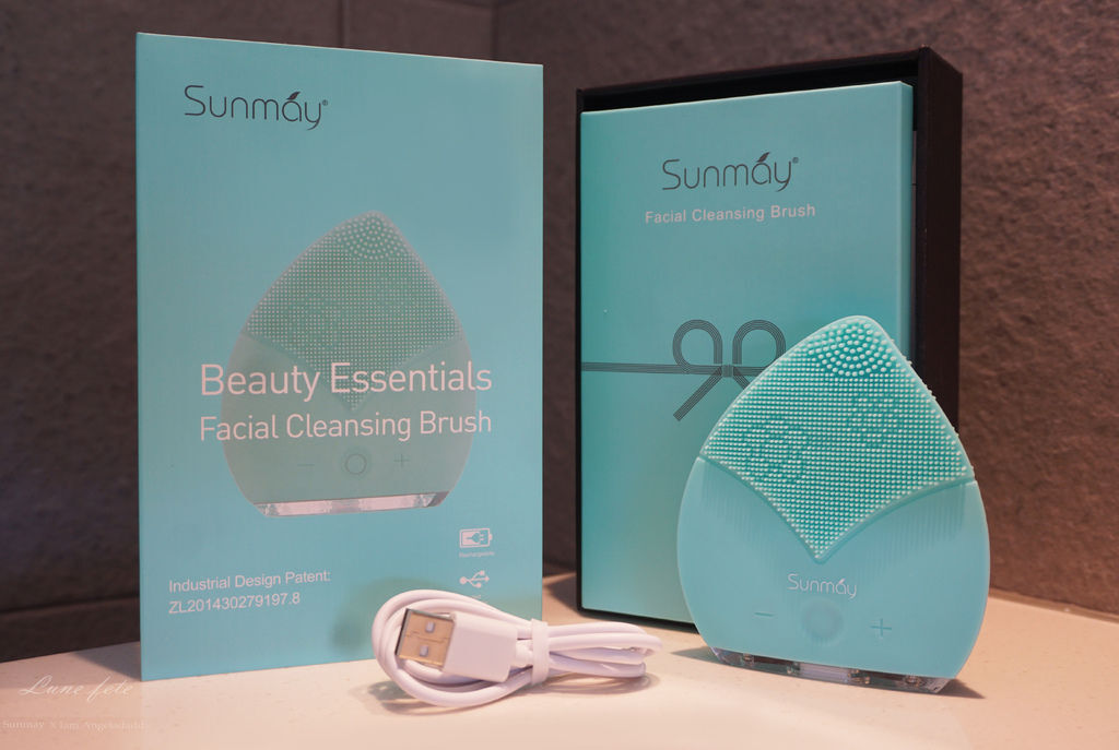 [3C小家電開箱] Sunmay 音波淨透潔面儀 / 洗臉機 矽膠材質防污防霉 居家臉部清潔保養一次到位 讓髒污出得來 精華進得去 輕鬆擁有蛋殼肌~