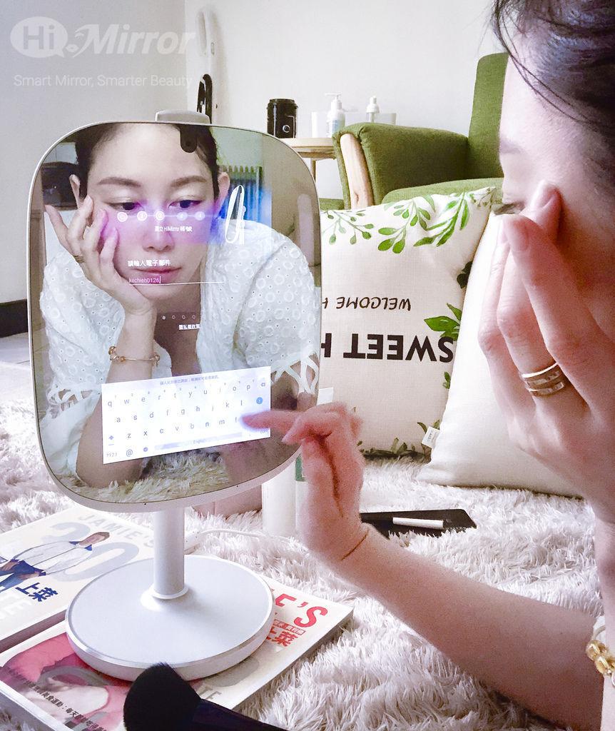 [美容3C開箱] HiMirror Mini迷你姬 專屬於你的美容保養顧問!
