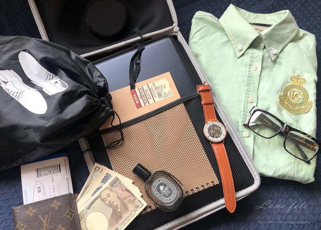 襯衫筆電硬殼收納盒、襯衫出國、襯衫收納、襯衫收納折法、襯衫收納盒、襯衫收納行李箱、襯衫收納袋