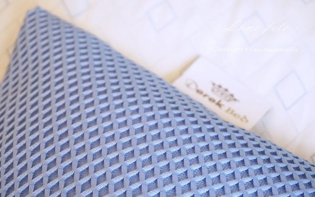 DSC09319.JPG德瑞克名床 COOKURU涼感枕頭套 &涼感被 瞬間涼感 快速回冷 持續散熱 讓北極熊也COO涼一夏!