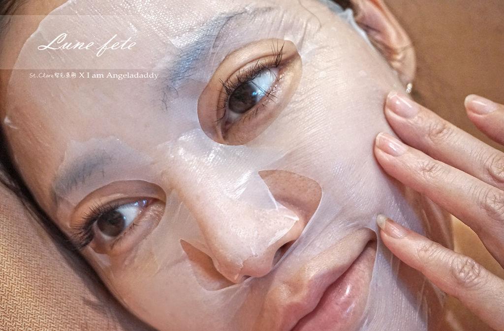 聖克萊爾「吸油膜王」深層淨膚生物纖維面膜 毛孔a潔淨會呼吸 混合肌/油肌調理必備!