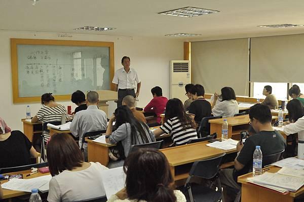 2013年9月中國大陸證照考試-輔導課程上課剪影
