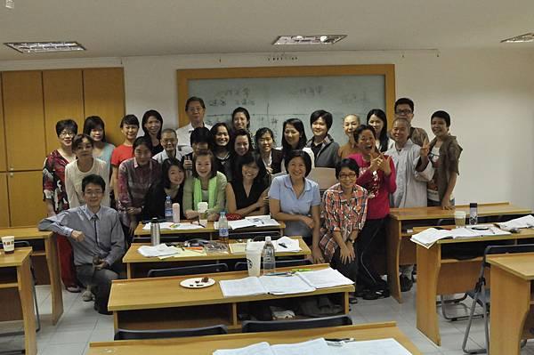 2013年9月28日-輔導課程 給老師驚喜慶祝教師節