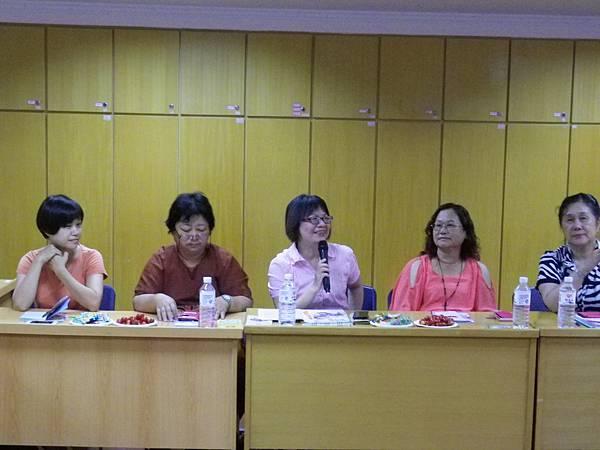 2014年8月心理專業交流會 - 台灣康復之友協會理事長分享