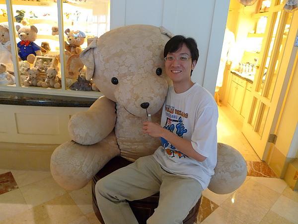 遠雄的招牌熊熊