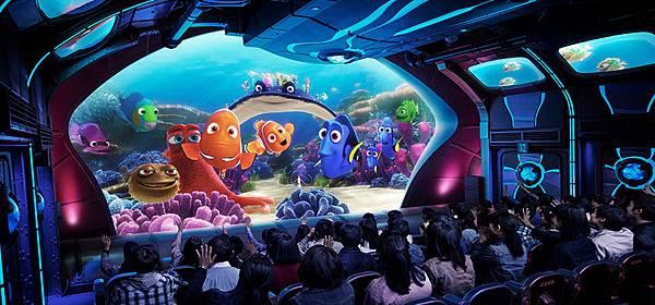 海底巡遊艇:尼莫&好友的海洋世界