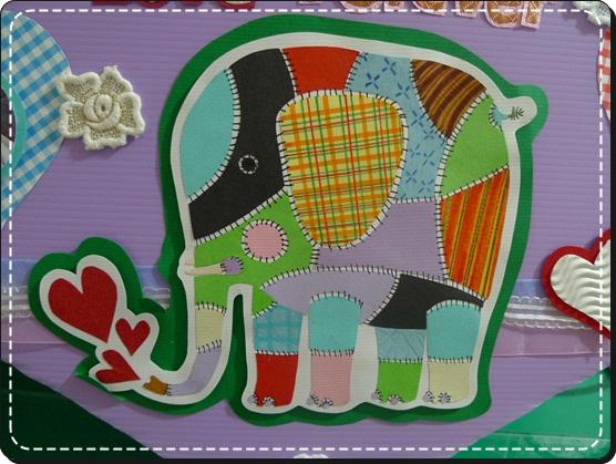 兔子小姐神來之筆的美哉大象