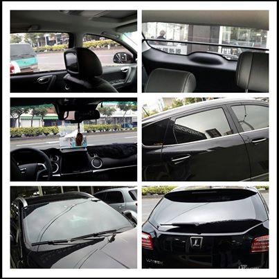 納智捷 SUV U7    前檔風玻璃裝貼FSK F45  車身與後擋風玻璃貼V-KOOL G05