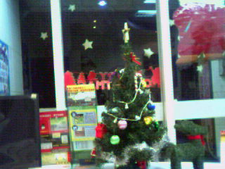 2006補習班的聖誕佈置