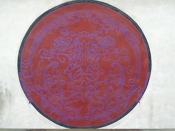 板橋林家:龍籐壁