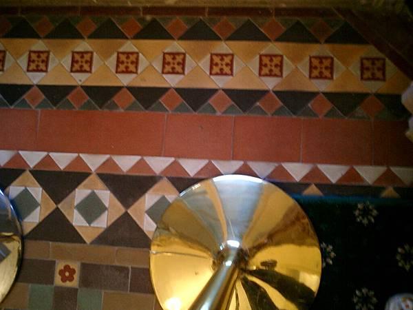 聖多明各城:英國 2F地板拼磚