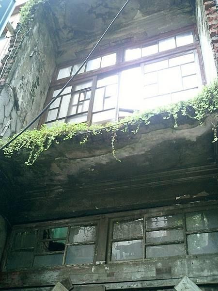 淡水老街:廢墟