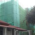 整修中的綜合大樓.JPG