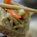 高雄七賢路香味海產粥、脆皮臭豆腐