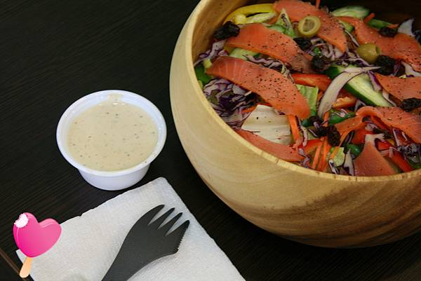 Woopen輕食館-新鮮沙拉、美食潛艇堡