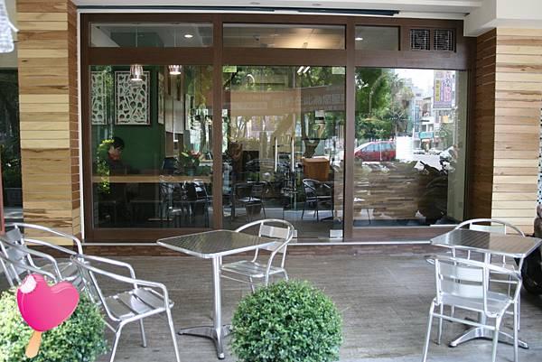 木盆輕食館店面
