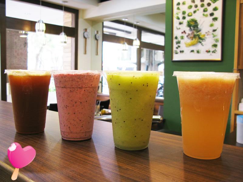 木盆輕食館-夏日新鮮果汁