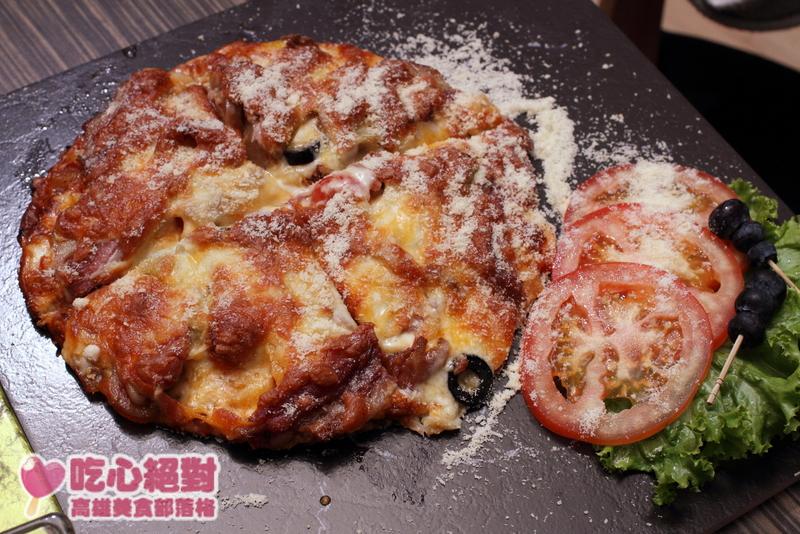 二訪OT,豬腳披薩
