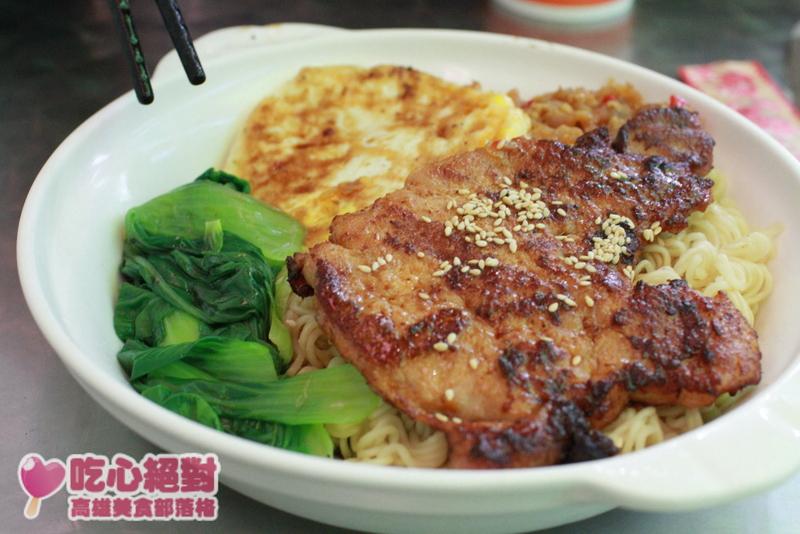菠蘿油王子Mini香港茶餐廳-豬扒煎蛋公仔麵