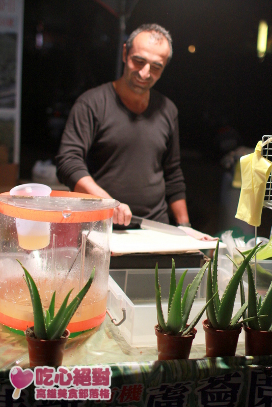 高雄元宵燈會美食-冬瓜蘆薈