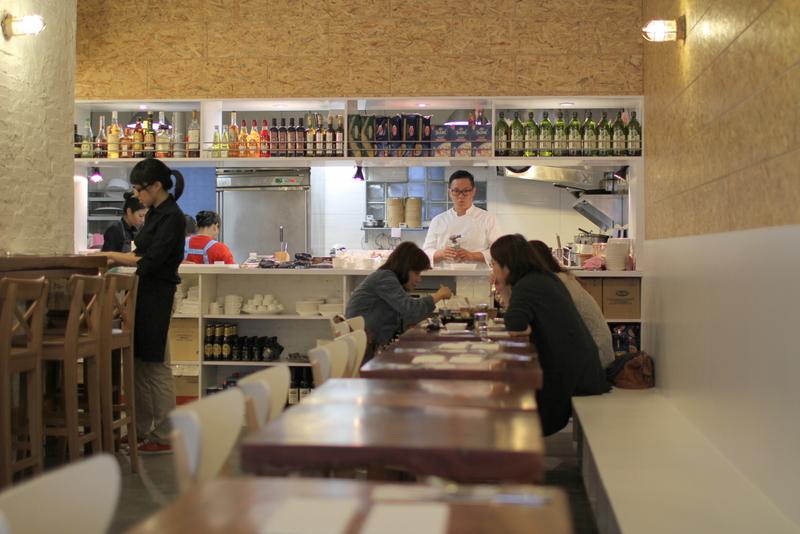 挑食餐酒館-開放式的廚房