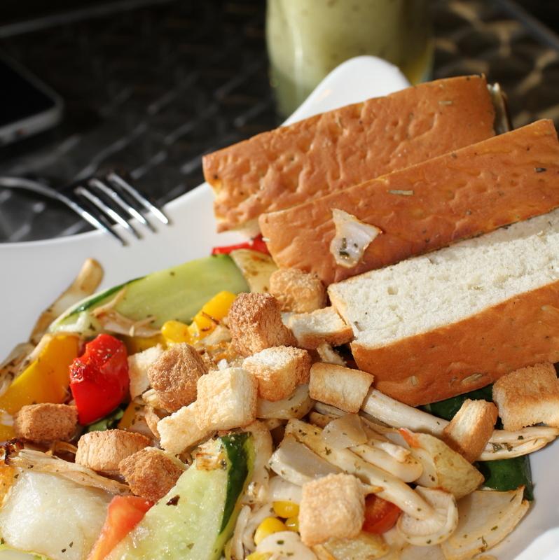 木盆輕食館-義式烤時蔬沙拉
