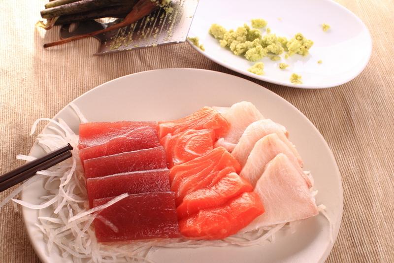 自由黃昏市場生魚片