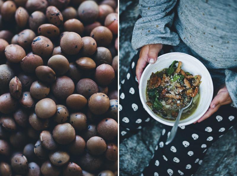 雞油菌菇扁豆湯Chanterelle & Lentil Soup