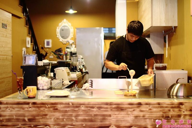 仙杜瑞拉鐵板甜點餐廳/布丁燒/草莓塔