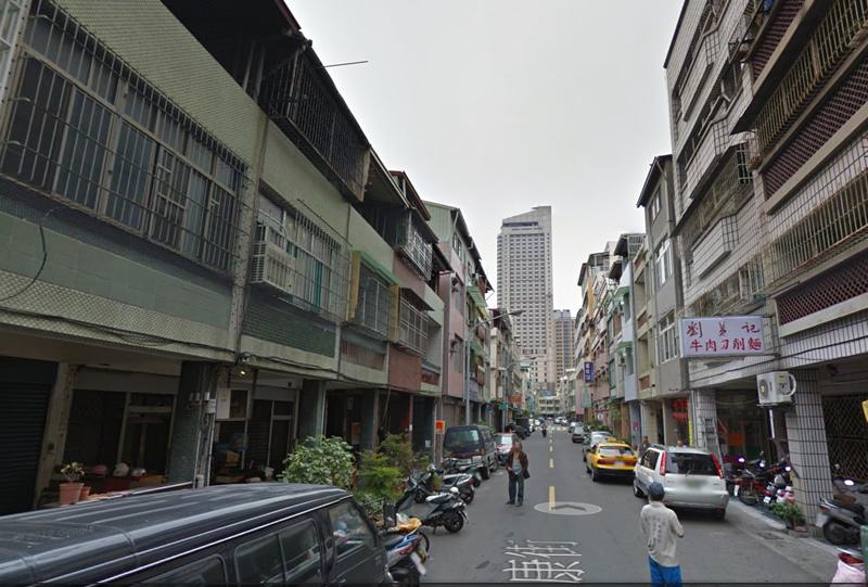 劉易記刀削麵Google Map