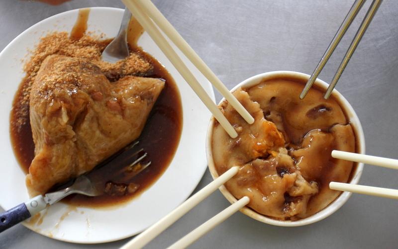 向食尚玩家致敬之旅1/6-成男生肉粽碗粿
