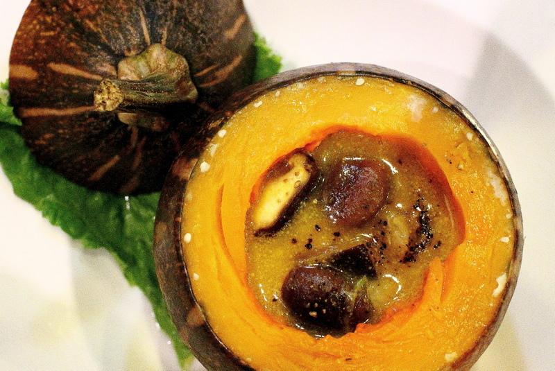 魚霸無菜單料理-南瓜海鮮盅