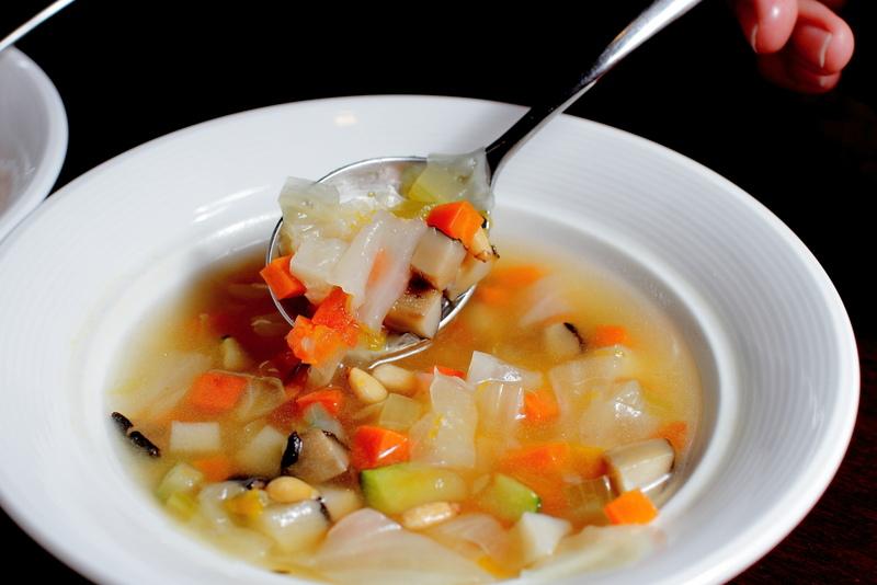 三民區帕狄尼諾Pardino-義大利餐廳-南瓜蔬菜清湯