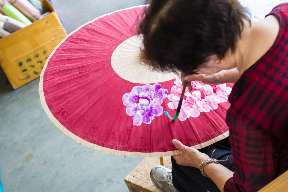 高雄旅遊-美濃李家紙傘