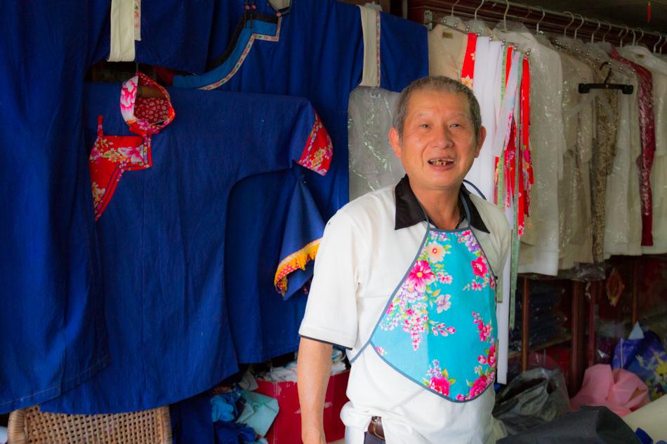 美濃景點-錦興藍衫店