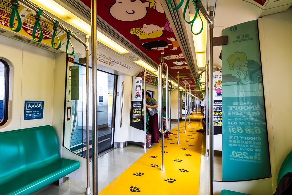 高雄捷運-史努比列車