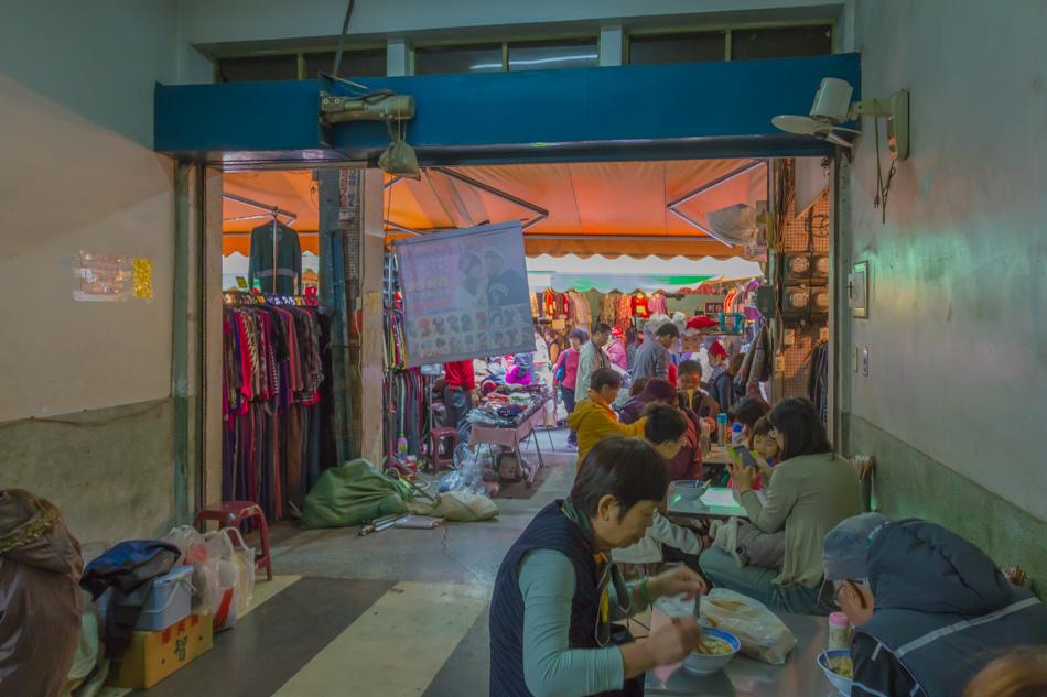 三民市場無名麵攤