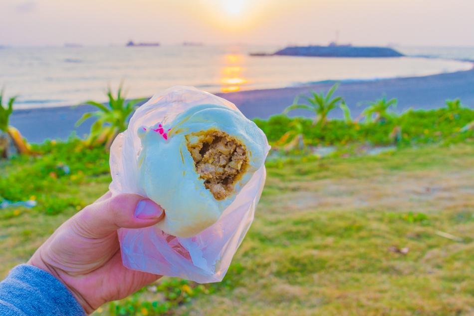 旗津美食 - 赤竹饅頭