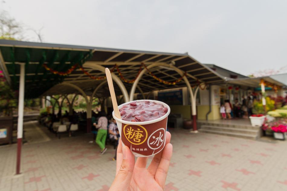 橋頭糖廠-紅豆酵母冰