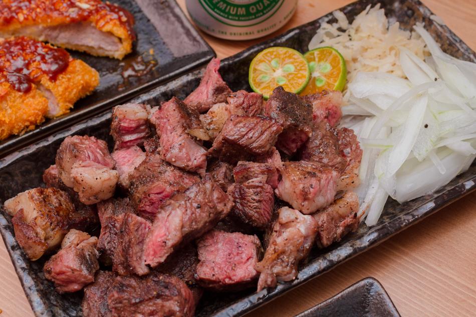 文化中心美食 - 焱燒碳烤牛排
