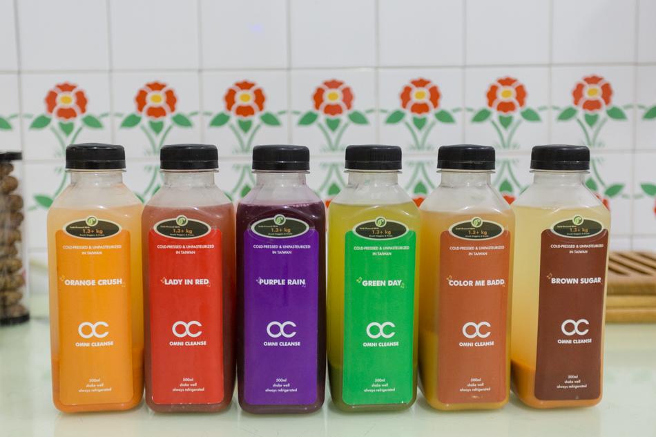 OC新鮮冷壓蔬果汁