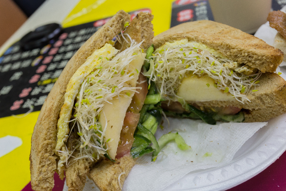 光華夜市-約瀚碳烤三明治x越南法式麵包